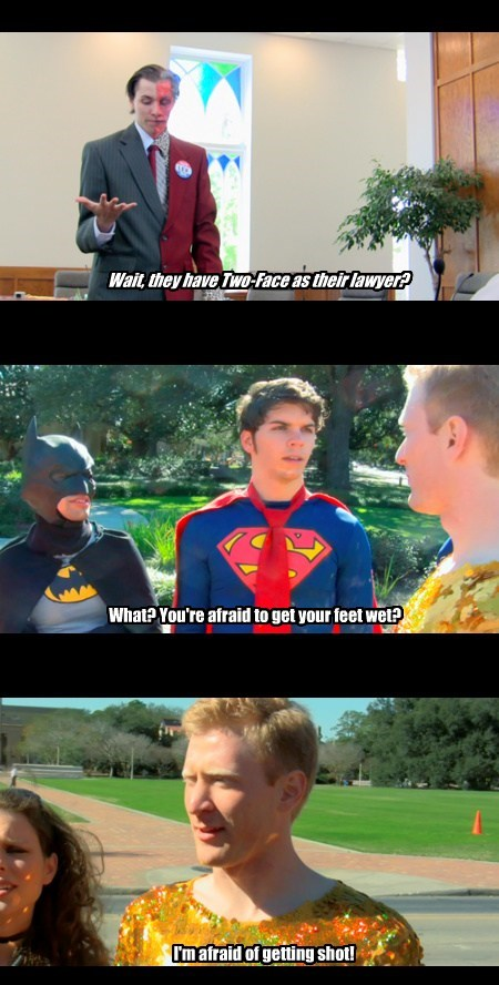 chance two face super heros funny - 7640786944