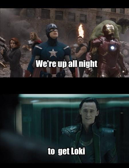 puns The Avengers daft punk funny - 7640857344
