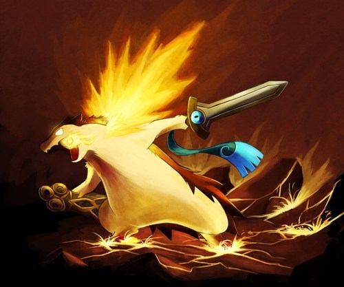 Pokémon art honedge typhlosion - 7640947200