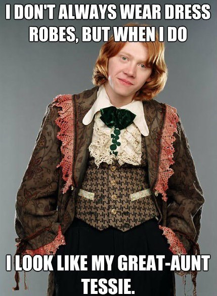 the most interestin gman Harry Potter Memes Ron Weasley - 7640965120