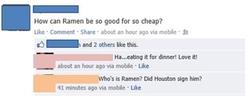 nba ramen houston rockets dwight howard basketball