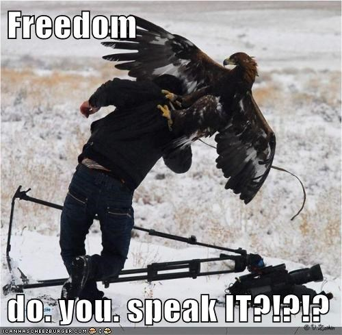 freedom do you speak it america funny - 7641301504