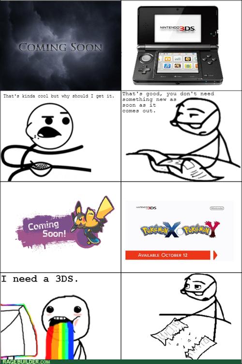 cereal guy Pokémon nintendo 3ds Pokemon X Pokemon Y - 7641440768
