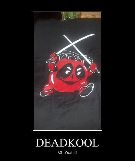 kool-aid guy wtf deadpool funny - 7641545472