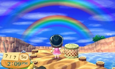 animal crossing new leaf gameplay animal crossing double rainbow - 7641988096