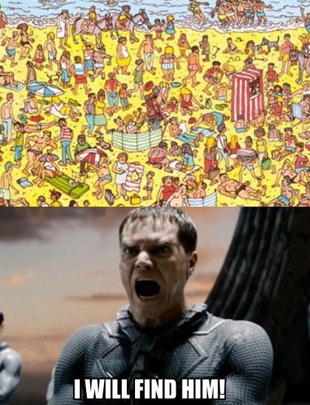 zod,waldo,funny,superman
