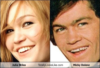 micky dolenz,totally looks like,julia stiles,funny