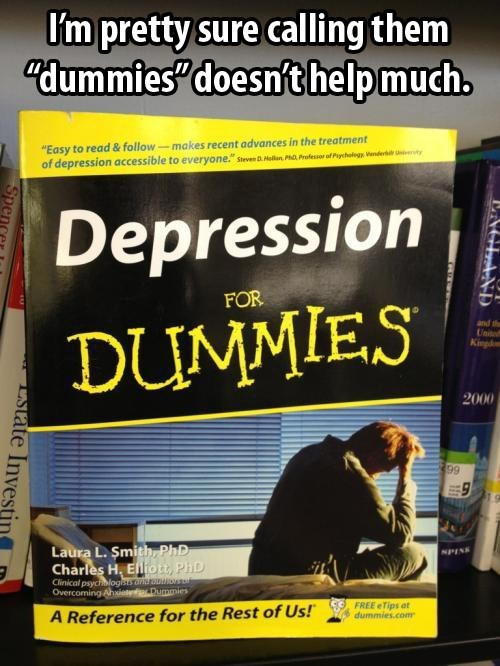 depression for dummies,depression,dummies