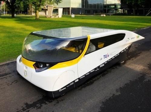 car technology solar power science