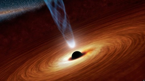 black hole Astronomy quasar science funny - 7642794752