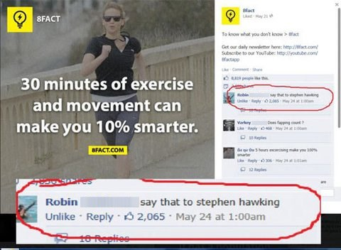 exercise,running,stephen hawking