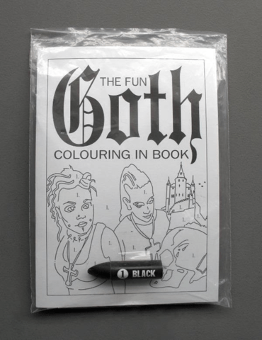 goth,kids,coloring books,funny,g rated,parenting
