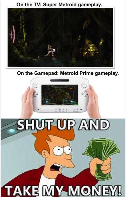 first person third person Metroid wii U nintendo - 7642872832