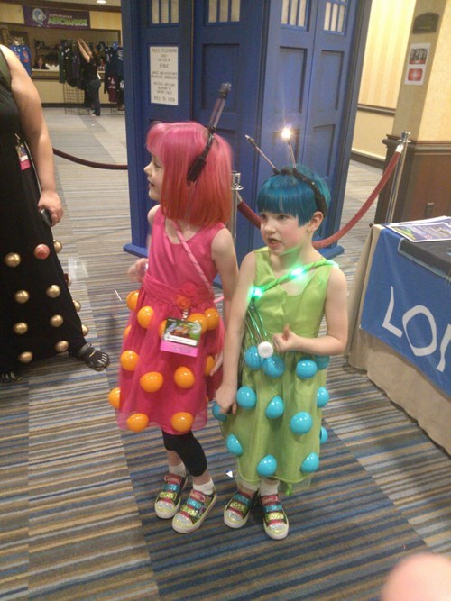 cosplay cute daleks doctor who - 7642938112