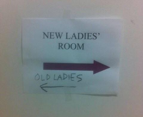 sign bathroom funny - 7642991872