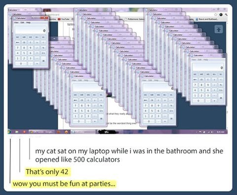 calculators losers get a life fun at parties - 7643052032