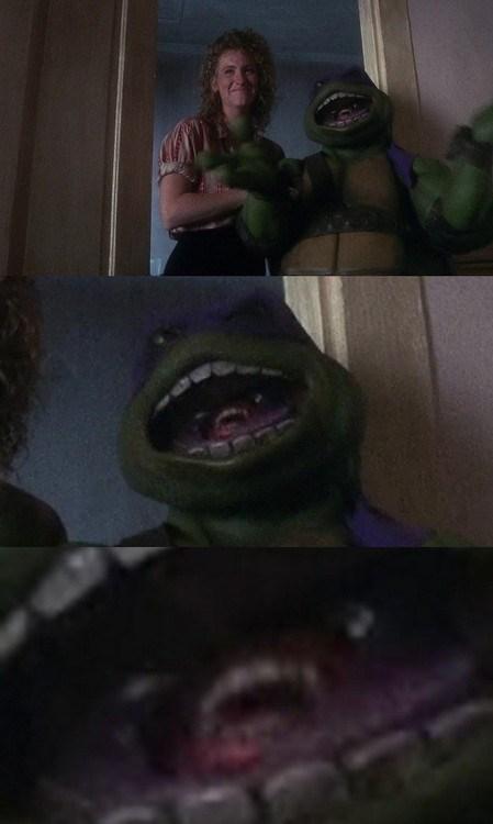teenage mutant ninja turtles wtf creepy costume funny - 7643085056