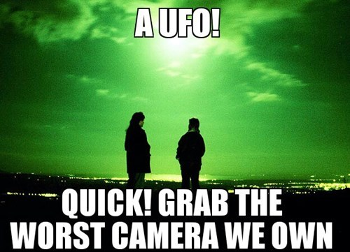 Whenever Someone Sees a UFO