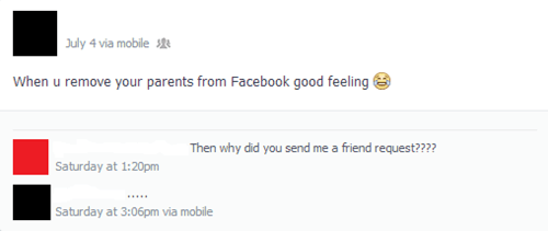 parents on facebook moms parenting