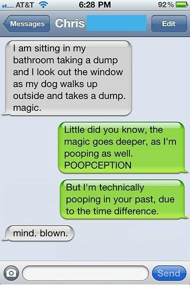 bathroom humor Inception funny g rated AutocoWrecks - 7643290112