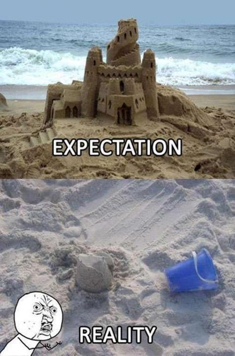 expectations vs reality the beach - 7643300608