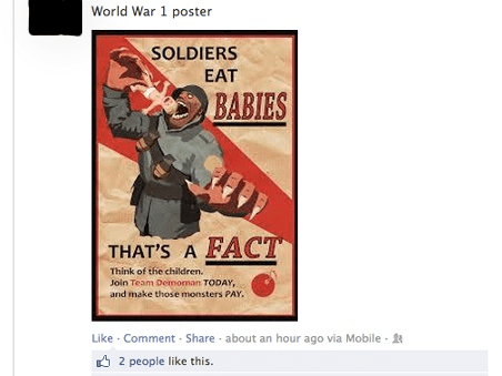 Team Fortress 2 World War 1 TF2 failbook