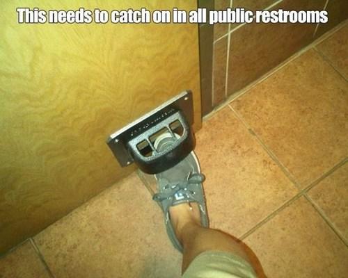 doors germs restrooms - 7643349760