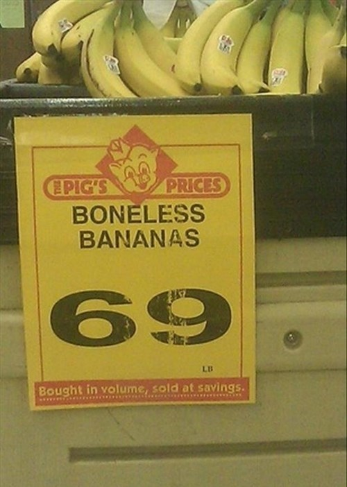 bananas,boneless bananas