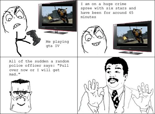 cops Grand Theft Auto we got a badass over here - 7643390464