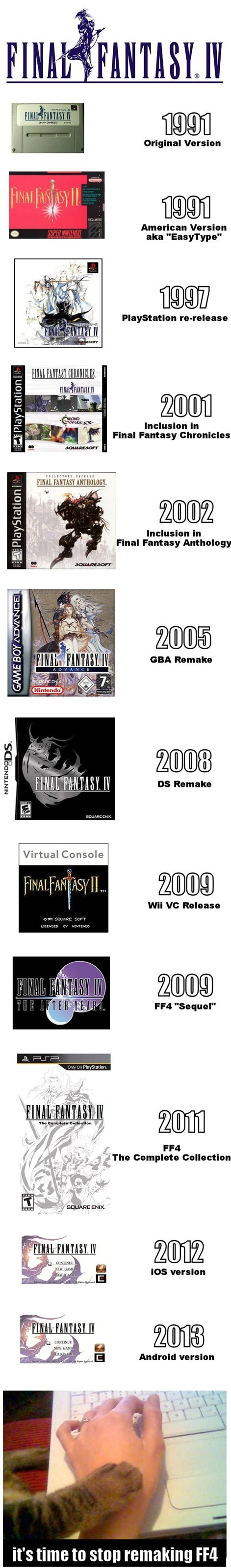 final fantasy stahp square enix Final Fantasy IV - 7643401216