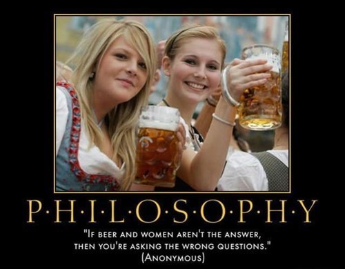 beer,philosophy,funny,women
