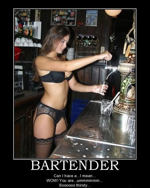 Sexy Ladies bartenders idiots funny - 7643525888