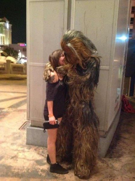 star wars wookie nerdgasm funny
