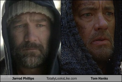 jarrod phillips,tom hanks,totally looks like,funny