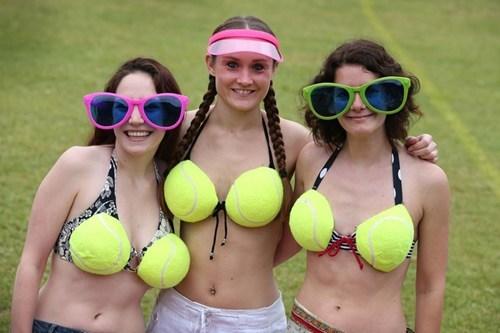 tennis bikinis funny - 7643858688