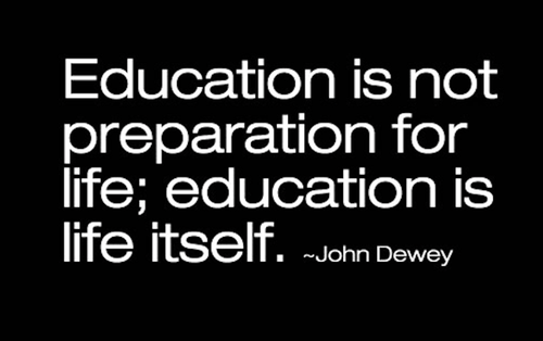 learning john dewey quote funny - 7644276480