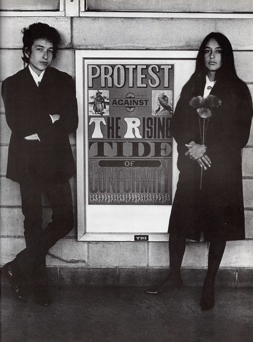 Music,nostalgia,bob dylan,Joan Baez