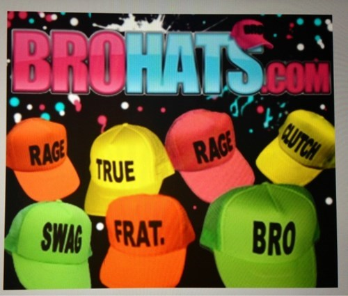 bros hats funny