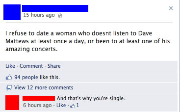 forever alone single dave matthews - 7645482240