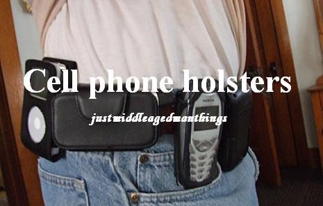 cellphone holsters dork fanny packs funny