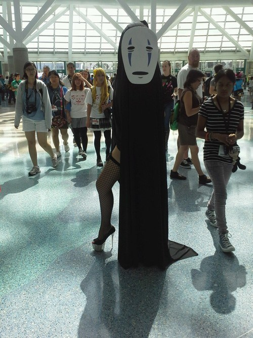 no face cosplay anime spirited away