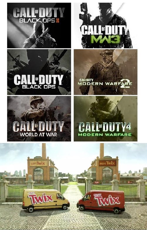 twix call of duty activision - 7645705984
