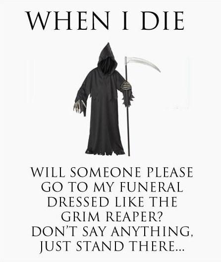 Death grim reaper funny - 7645734912
