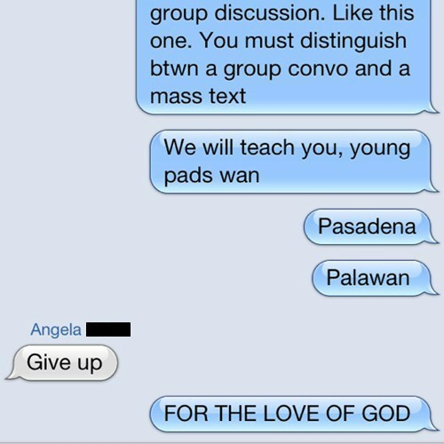 star wars texting funny padawan g rated AutocoWrecks - 7645736448
