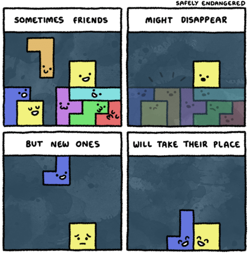 safely endangered comics tetris - 7645792000