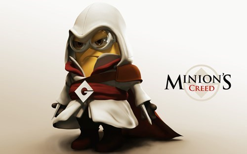 crossover,despicable me,assassins creed