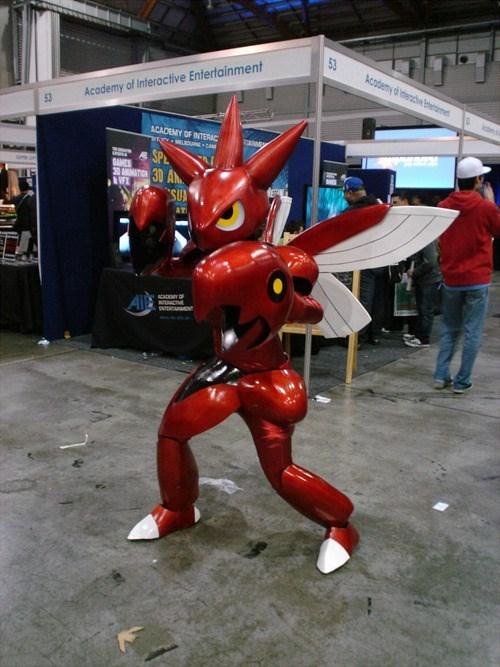 Pokémon cosplay scizor - 7645894400