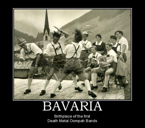 dancing death metal bavaria bands funny - 7646085632