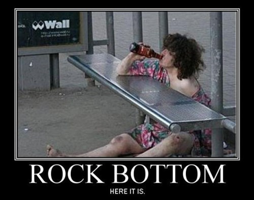 drunk idiots funny rock bottom - 7646187520