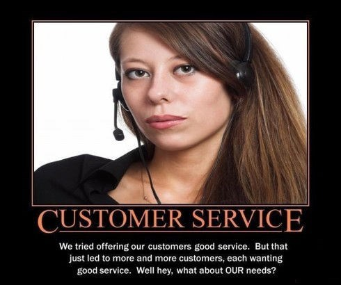 customer service funny Mean People - 7646228992